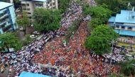 मुंबई की दहलीज़ पर मराठा क्रांति रैली, राजनीतिक दलों की नींद उड़ी