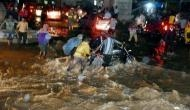In photos: Incessant rains create flood-like situation in Hyderabad; high alert sounded