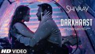 एक्शन, एडवेंचर, संस्पेंस के बाद अब शिवाय का हॉट रोमांटिक गाना रिलीज, अजय देवगन-एरिका का किस