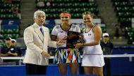 सानिया-स्ट्रायकोवा ने जीता टोरे पैन पैसिफिक ओपन का महिला युगल खिताब
