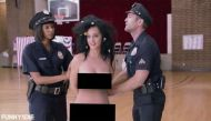 Watch: Katy Perry's bizarre naked plea to coax America to vote this November