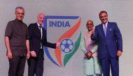 भारत में होने वाले फीफा अंडर-17 विश्व कप का लोगो लॉन्च