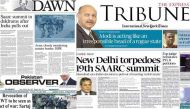 SAARC summit: Pakistani newspapers match the Indian media's frenzy