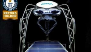 A robot table tennis tutor 'Forpheus' now holds Guinness World Record