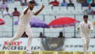 कोलकाता टेस्ट: दूसरे दिन भुवनेश्वर ने तोड़ी कीवी टीम की कमर, न्यूजीलैंड का स्कोर- 128/7