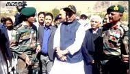 राजनाथ सिंह ने करगिल के द्रास में वॉर मेमोरियल का किया दौरा
