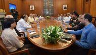 मोदी के साथ बैठक में बोले अजीत डोभाल- 100 और आतंकी एलओसी पर घुसपैठ को तैयार