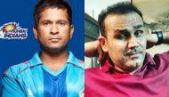 Going viral: Virender Sehwag lovingly pulling Sachin Tendulkar's leg is giving Twitter life