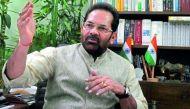 मुख्तार अब्बास नकवी: भारत में मुसलमानों को दोयम दर्जे के नागरिक होने का अहसास होता है