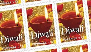US postal service releases stamp to commemorate Diwali