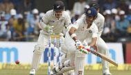 इंदौर टेस्ट: कप्तान विराट ने संभाली लड़खड़ाती पारी, चाय तक भारत का स्कोर- 148/3