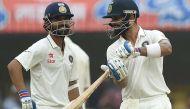 इंदौर टेस्ट: कप्तान विराट कोहली के शतक की बदौलत पहले दिन भारत का स्कोर- 267/3