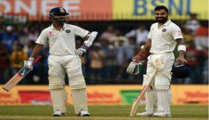 Indore Test: Virat Kohli, Ajinkya Rahane shatter records on Day 2