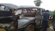 यूपी: गाजीपुर में पुलिया से नदी में गिरी सूमो, 8 लोगों की मौत