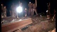 नक्सलियों ने झारखंड के बोकारो में उड़ाई रेल पटरी