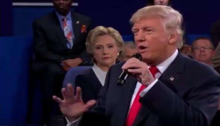 Trump says US elections 'rigged', calls for a drug test before the next presidential debate