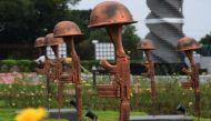 सर्जिकल स्ट्राइक के बीच शौर्य स्मारक, विश्वयुद्ध के बाद पहला वॉर मेमोरियल