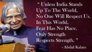 Dr APJ Abdul Kalam 2nd death anniversary: Top ten quotes by the people's president