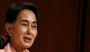 Myanmar's Aung San Suu Kyi to call on President Mukherjee today