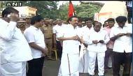 तमिलनाडु: कावेरी जल विवाद में विपक्ष का रेल रोको प्रदर्शन