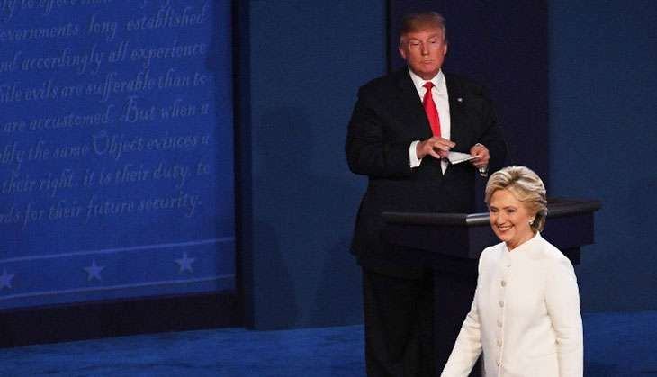 Hillary Clinton triumphs third and final round of presidential debate