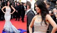 Mallika Sherawat sports Georges Hobeika gown at Cannes