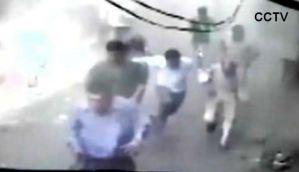 वीडियोः देखें दिल्ली के चांदनी चौक में कैसे हुआ विस्फोट
