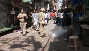 दिल्ली: चांदनी चौक के नया बाजार में विस्फोट, एक की मौत
