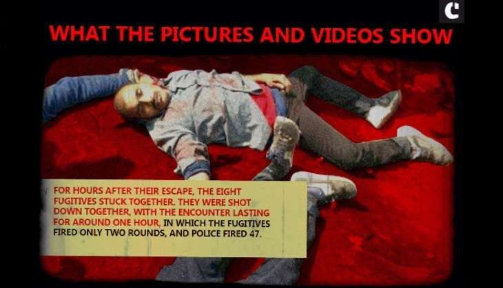 SIMI encounter: a simple graphic to show the gaping holes in the police story