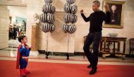 Halloween at White House: Watch Barack Obama dance to Michael Jackson's Thriller