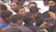 OROP suicide row: Rahul Gandhi meets Ram Kishan Grewal's family in Bhiwani