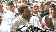 ओआरओपी: राहुल बोले पैसे नहीं इज़्ज़त-इंसाफ़ की लड़ाई, माफ़ी मांगे मोदी सरकार