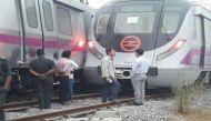 दिल्ली में पहली बार मेट्रो ट्रेन का हुआ एक्सीडेंट
