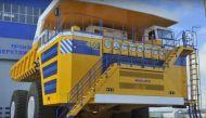 दुनिया का सबसे बड़ा ट्रक, चढ़ने के लिए करना पड़ता है सीढ़ियों का इस्तेमाल