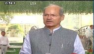 Control air pollution on priority, no time for blame game: Env Minister Anil Dave