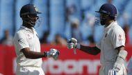 भारत Vs इंग्लैंड राजकोट टेस्ट: पुजारा-विजय शतक बनाकर हुए आउट, तीसरे दिन स्कोर-319/4