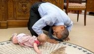 Looking back: White House official photographer's favourite shots of Barack Obama