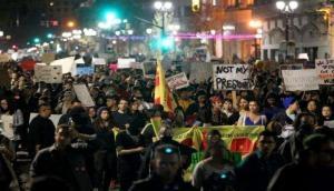 बीती रात अमेरिका के कई शहरों में हिंसक प्रदर्शन, एक प्रोटेस्टर की गोली मारकर हत्या