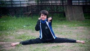 The kickboxing kid: Rare photos of 8-year-old kickboxing champ Tajamul Islam