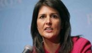 Not going to run scared from North Korea: US envoy Nikki Haley