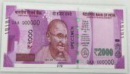 सूरत और मुंबई में 1.61 करोड़ रुपये के 2000 के नए नोट जब्त