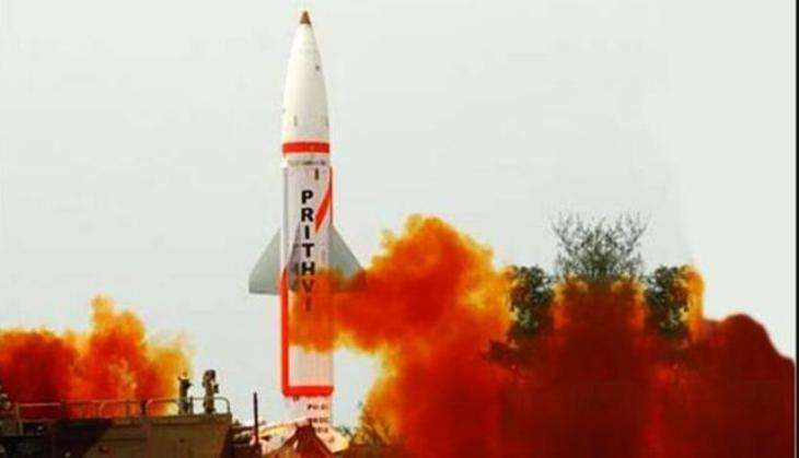 India successfully conducts twin trial of Prithvi-II missile