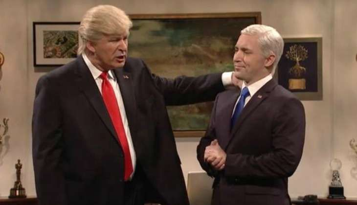 While Donald Trump goes on a Twitter rant, Alec Baldwin does this on Saturday Night Live