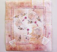 Artist Alka Mathur uses tea bags as an art medium