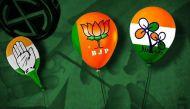 उपचुनाव: बीजेपी बढ़ी, कांग्रेस पिछड़ी, टीएमसी, डीएमके अपनी सीटों पर काबिज़