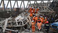 चीन में पावर स्टेशन का कूलिंग टावर ढहने से 40 की मौत