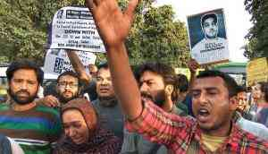 38 days later, still no sign of Najeeb: JNU students' protest hits the streets