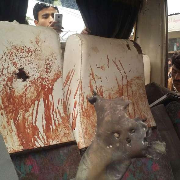 Bus attack on LoC