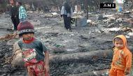 जम्मू-कश्मीर: नरवाल में भीषण आग से 4 की मौत, 80 झुग्गियां खाक