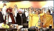 नवजोत कौर सिद्धू और पूर्व विधायक परगट सिंह कांग्रेस में हुए शामिल